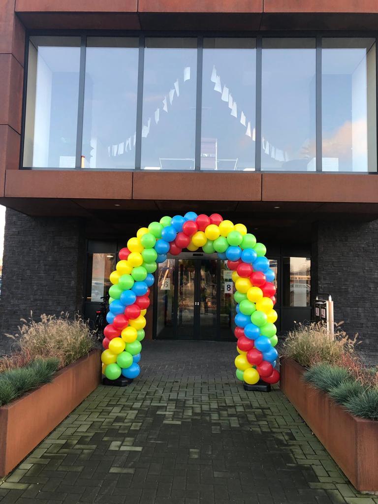 ballonnenboog 4 kleuren