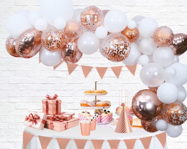 Balloon deco kit rose goud