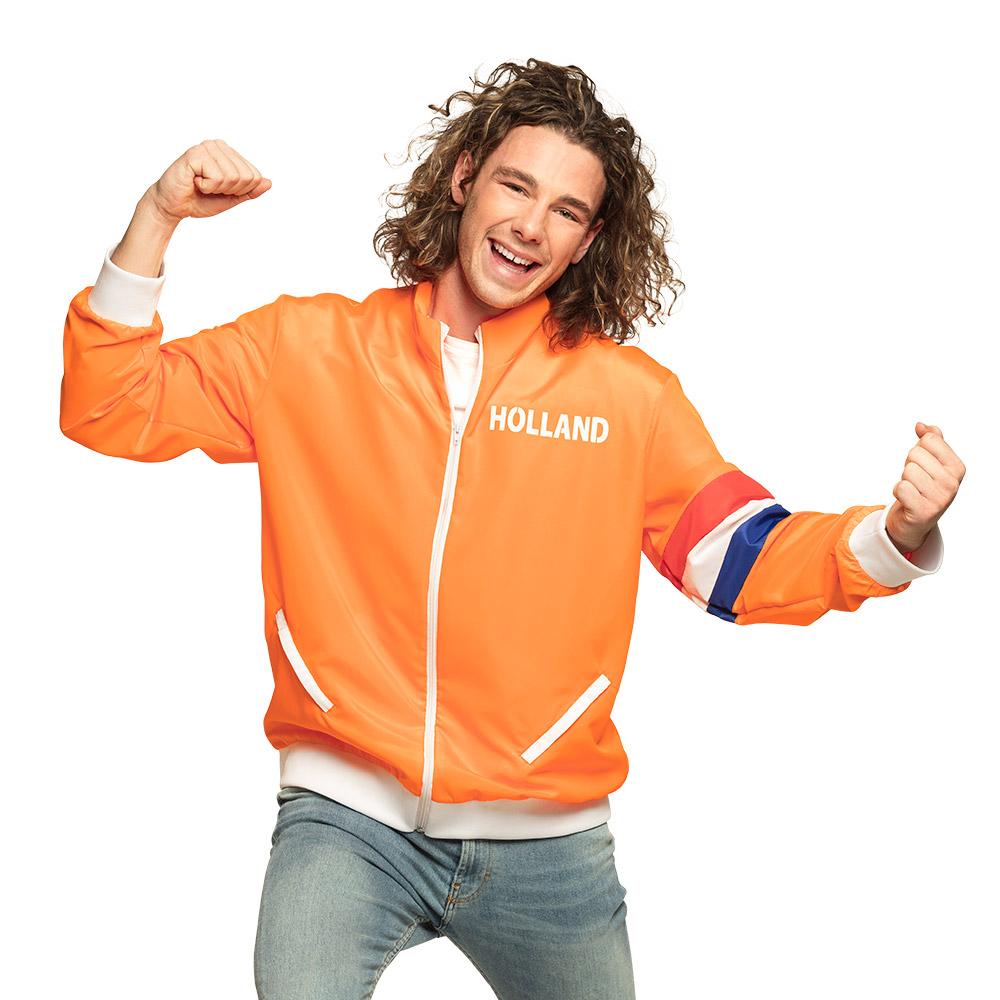 Trainingsjasje Holland Oranje voor Heren