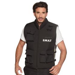 Swat vest voor volwassenen onesize