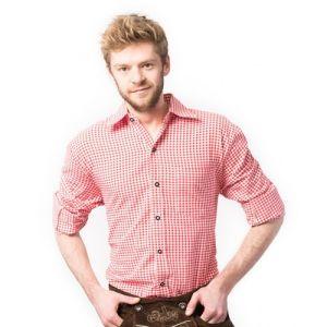 Oktoberfest blouse Rood luxe