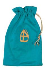 Strooizak Luxe - turquoise