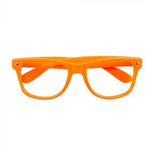Oranje neon bril