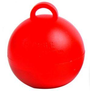 Ballongewicht bubble Rood