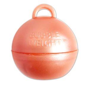 Ballongewicht bubble rosé goud