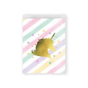 Uitdeelzakjes Unicorn Sparkle
