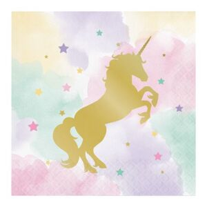 Servetten Unicorn Sparkle