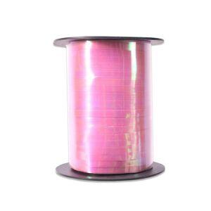 Ballonnenlint iridescent roze 5mm x 250m
