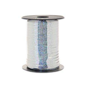Ballonnenlint holografisch zilver 5mm x 250m