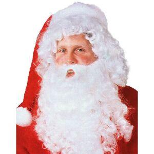 Kerstman baardstel F wit