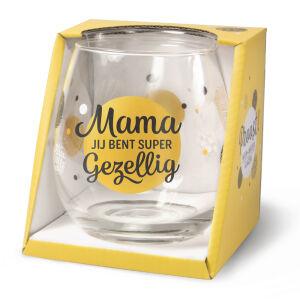 Waterglas Proost Mama