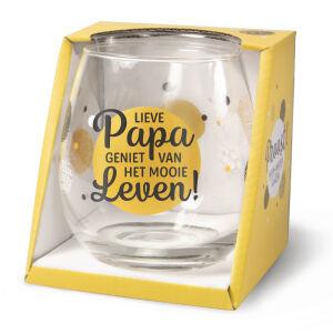 Waterglas Proost Papa