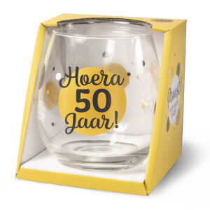 Waterglas Proost 50 jaar