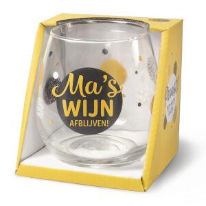 Waterglas Proost Ma's Wijn