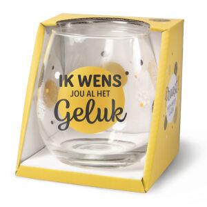 Waterglas Proost Geluk