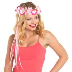 Hawaii Haarband Roze Luxe