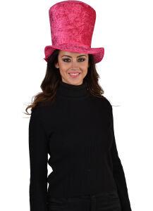 Hoge hoed roze ( LUXE )