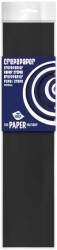 Crêpepapier- 250cm x 50cm - zwart