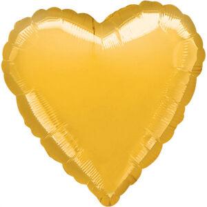 Folieballon Hart Metallic Gold S15 43cm