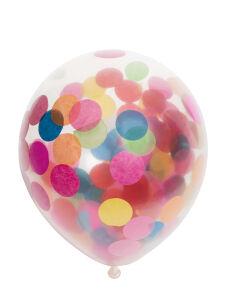 confetti ballonnen mix kleuren