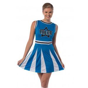 Cheerleader kostuum Blauwe Ster