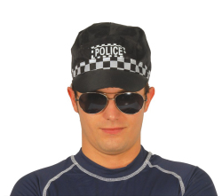 Pet van de lokale Politie