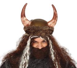 Vikinghelm met Vacht - bruin