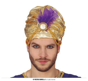 Sultan hoed goud