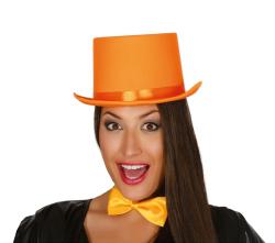 Hoed ''Hoog'' - Luxe - oranje