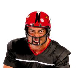 Helm ''American Football'' - rood