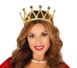Tiara ''Koningin'' - goud