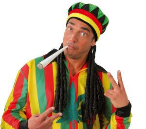 Jamaican hoed met vlechten