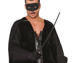 Set Masker & Sabel ''Zorro'' - 63cm - zwart