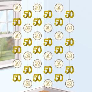 Decoratie 50 jaar goud