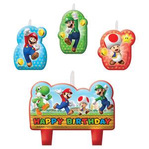 Taartkaarsjes Super Mario