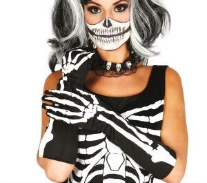 Skeleton Handschoenen 40 Cm