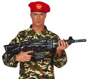 Opblaasbaar Machinepistool 90cm