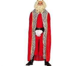 Cape ''Red Velvet'' voor Koning - 150cm