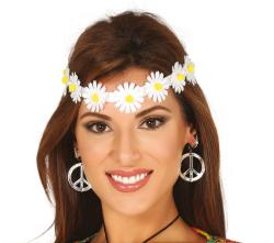 Haarband met Madeliefjes
