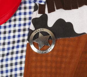 Button Star Texas Ranger