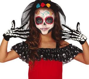 Kinderen Skeleton Handschoenen