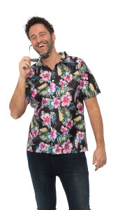 Hawaii blouse zwart