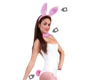 Pink Bunnygirl Set