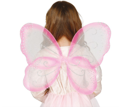 Vleugels Geel - 42x40cm
