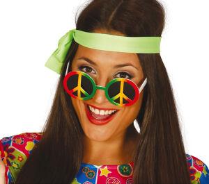 Bril multicolour Hippy Peace