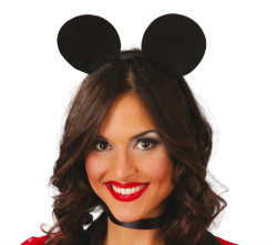 Tiara Mouse - zwart