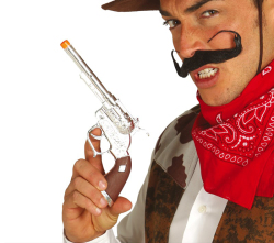 Cowboy Revolver - 25cm