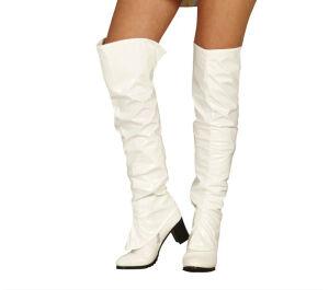 Witte kap Laarzen