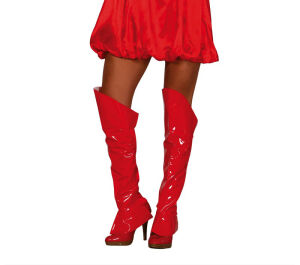 Kap laarzen rood