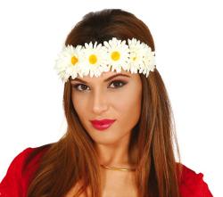 Tiara Witte Bloemen